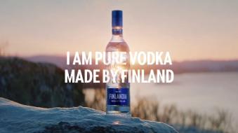 把广告当电影拍,才是真正的芬兰纯伏特加