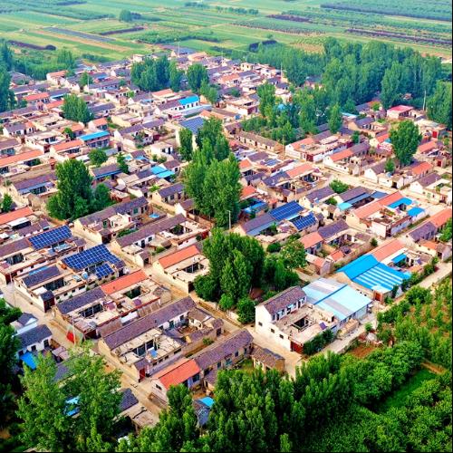 美丽乡村--泰山景区李家庄