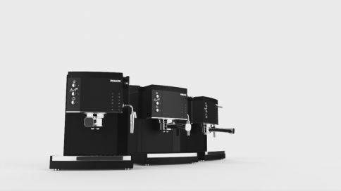【大菠萝】咖啡机3D展示