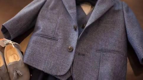 霍恩森西服定制霍恩森手工西服婚礼服正装工作服量身定制
