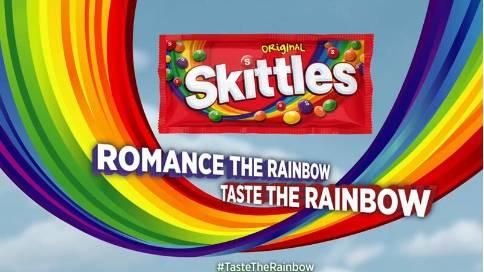 2017超级碗广告:skittles彩虹糖就是这么好吃