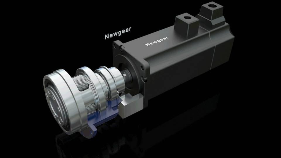 钮格尔减速器三维产品片