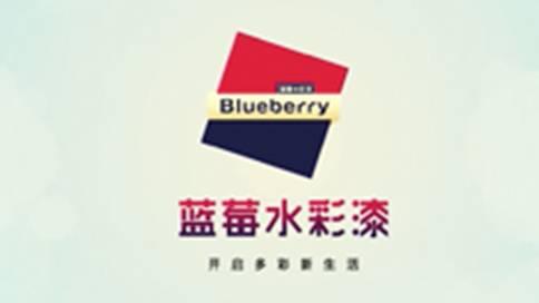 蓝莓水彩漆产品宣传片