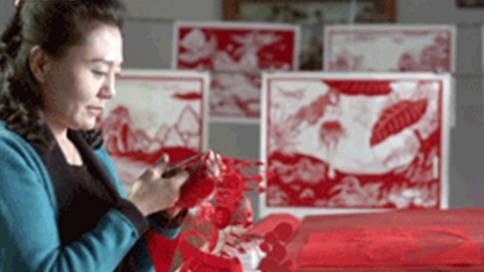 卢雪剪纸文化宣传片