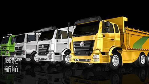 中国重汽渣土运输车产品宣传片
