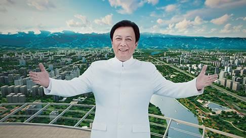 唐国强献映《蔡家坡城市宣传片》