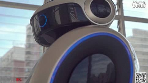 嘉仕传媒GASE IMAGE:智能迎宾机器人 宣传广告片